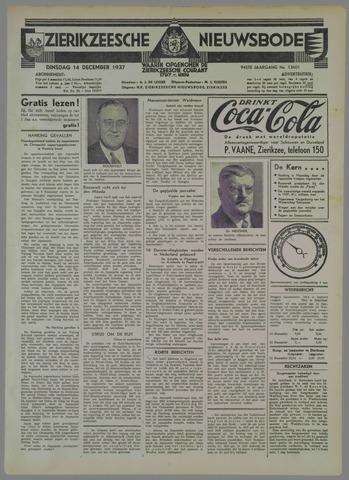 Zierikzeesche Nieuwsbode 1937-12-14