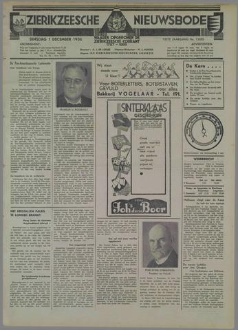 Zierikzeesche Nieuwsbode 1936-12-01