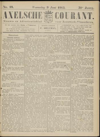 Axelsche Courant 1915-06-09