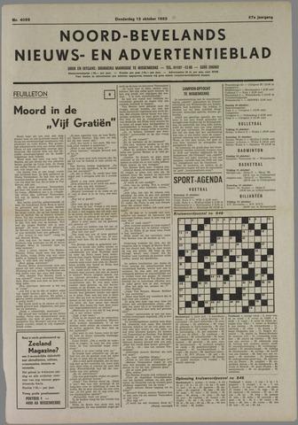 Noord-Bevelands Nieuws- en advertentieblad 1983-10-13