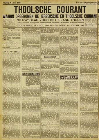 Ierseksche en Thoolsche Courant 1934-06-08