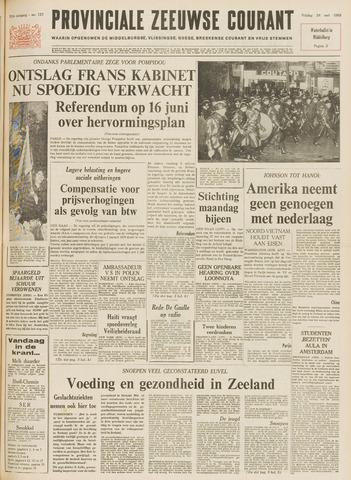 Provinciale Zeeuwse Courant 1968-05-24