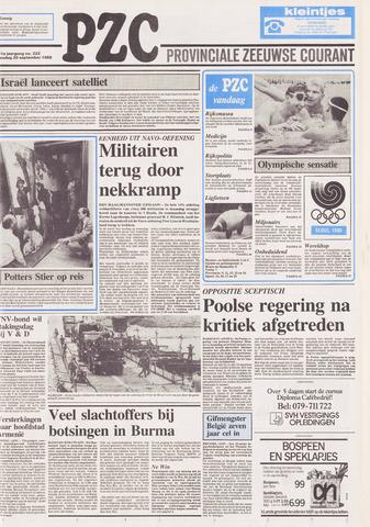 Provinciale Zeeuwse Courant 1988-09-20