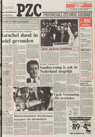 Provinciale Zeeuwse Courant 1987-10-10