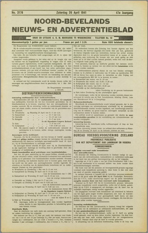 Noord-Bevelands Nieuws- en advertentieblad 1941-04-26