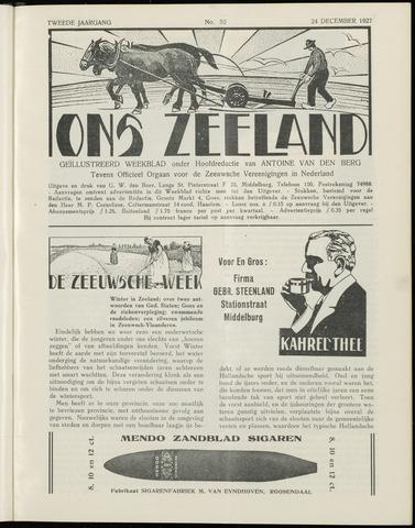 Ons Zeeland / Zeeuwsche editie 1927-12-24