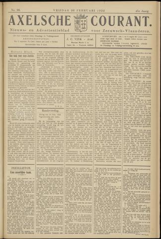 Axelsche Courant 1932-02-26