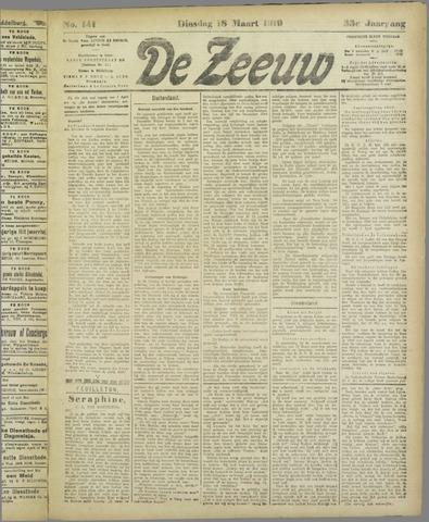 De Zeeuw. Christelijk-historisch nieuwsblad voor Zeeland 1919-03-18