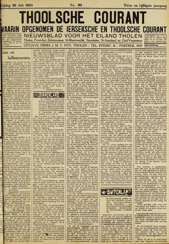 Ierseksche en Thoolsche Courant 1935-07-26