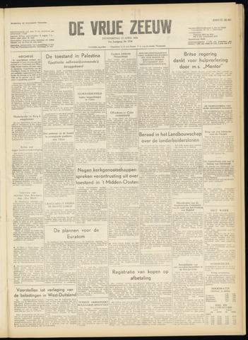 de Vrije Zeeuw 1956-04-12