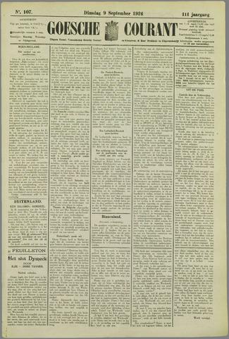 Goessche Courant 1924-09-09