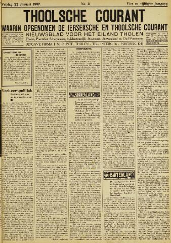 Ierseksche en Thoolsche Courant 1937-01-22