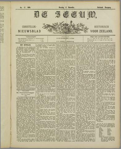 De Zeeuw. Christelijk-historisch nieuwsblad voor Zeeland 1898-11-08