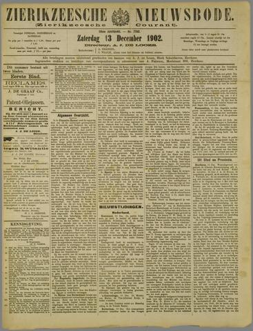Zierikzeesche Nieuwsbode 1902-12-13