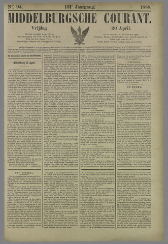 Middelburgsche Courant 1888-04-20