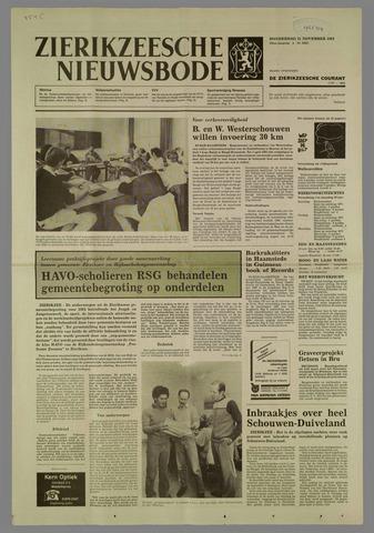 Zierikzeesche Nieuwsbode 1984-11-15