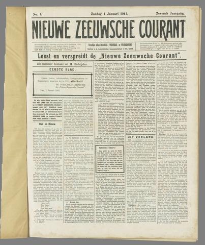 Nieuwe Zeeuwsche Courant 1911