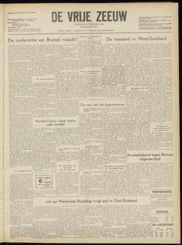 de Vrije Zeeuw 1954-08-23