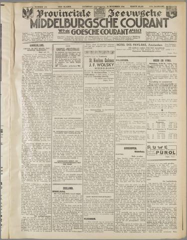 Middelburgsche Courant 1934-11-24
