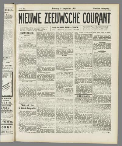 Nieuwe Zeeuwsche Courant 1911-08-08