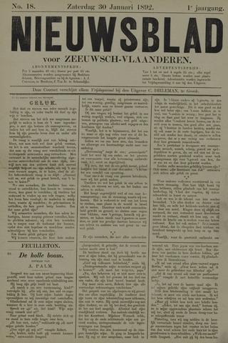 Nieuwsblad voor Zeeuwsch-Vlaanderen 1892-01-30