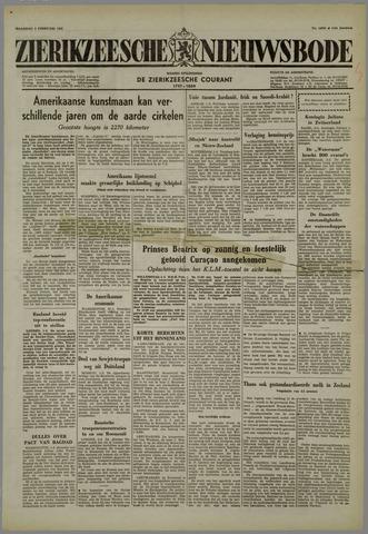 Zierikzeesche Nieuwsbode 1958-02-03
