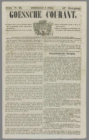 Goessche Courant 1864-06-09