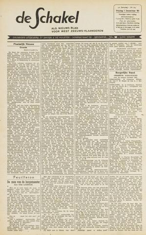 De Schakel 1961-12-01