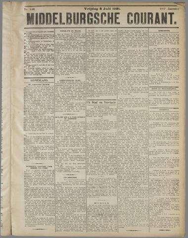 Middelburgsche Courant 1921-07-08