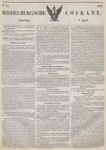 Middelburgsche Courant 1867-04-06