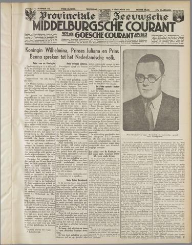 Middelburgsche Courant 1936-09-09