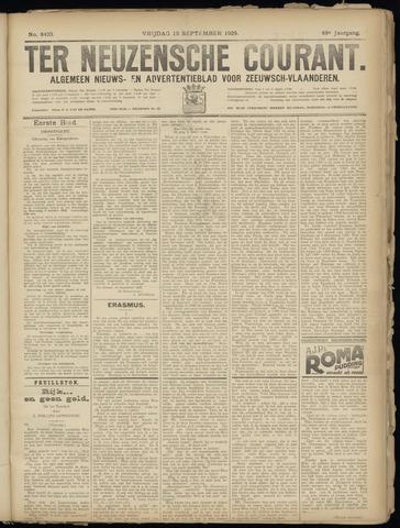 Ter Neuzensche Courant. Algemeen Nieuws- en Advertentieblad voor Zeeuwsch-Vlaanderen / Neuzensche Courant ... (idem) / (Algemeen) nieuws en advertentieblad voor Zeeuwsch-Vlaanderen 1929-09-13