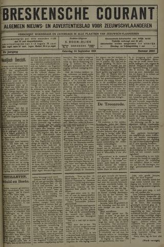 Breskensche Courant 1921-09-24
