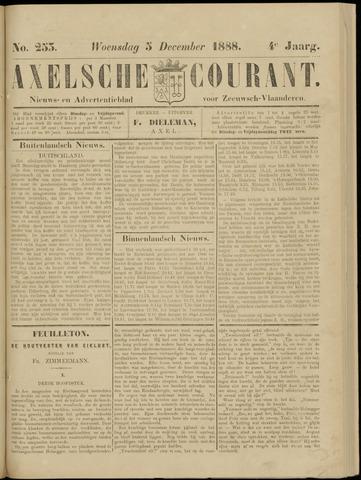 Axelsche Courant 1888-12-05