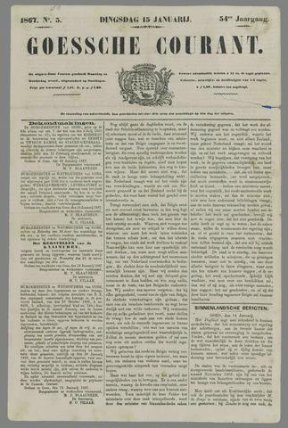 Goessche Courant 1867-01-15