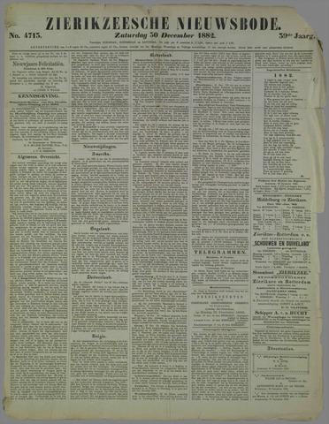 Zierikzeesche Nieuwsbode 1882-12-30