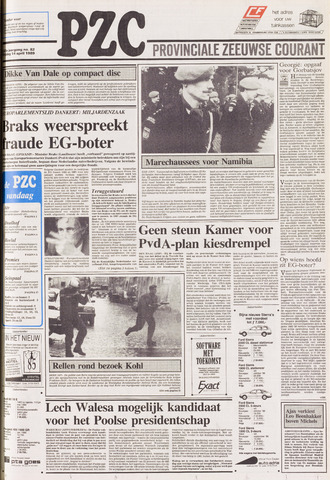Provinciale Zeeuwse Courant 1989-04-14