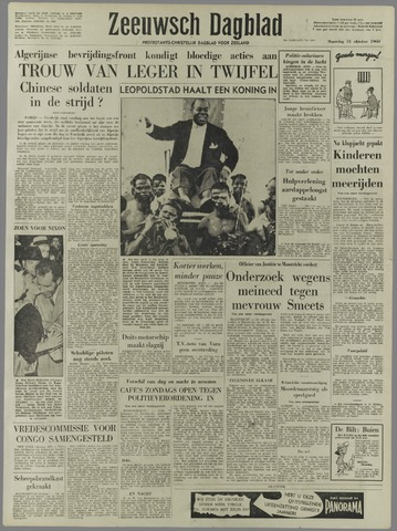 Zeeuwsch Dagblad 1960-10-31