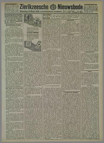 Zierikzeesche Nieuwsbode 1930-03-12