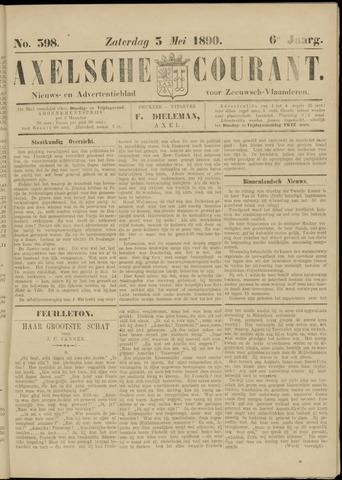 Axelsche Courant 1890-05-03