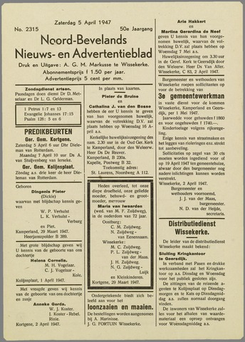 Noord-Bevelands Nieuws- en advertentieblad 1947-04-05