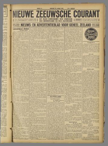 Nieuwe Zeeuwsche Courant 1924-01-22
