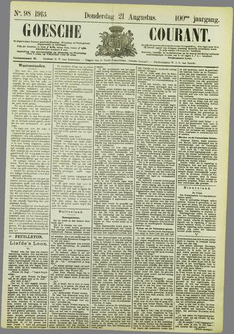 Goessche Courant 1913-08-21