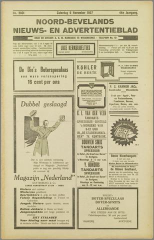 Noord-Bevelands Nieuws- en advertentieblad 1937-11-06