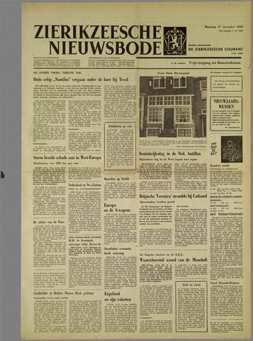 Zierikzeesche Nieuwsbode 1962-12-17