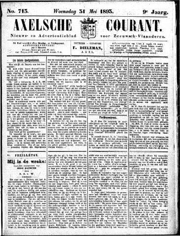 Axelsche Courant 1893-05-31