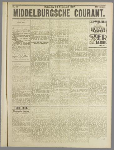 Middelburgsche Courant 1927-02-26