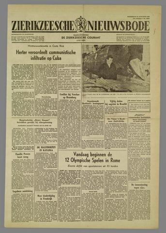 Zierikzeesche Nieuwsbode 1960-08-25