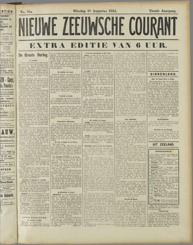 Nieuwe Zeeuwsche Courant 1914-08-18