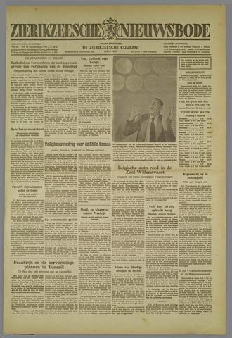 Zierikzeesche Nieuwsbode 1952-08-06